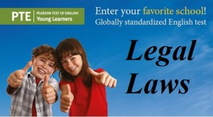 PTE Academic legal laws