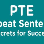PTE Academic speaking repeat sentence sample 4