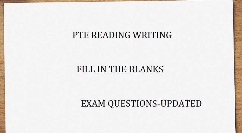 reading writing fill in the blanks