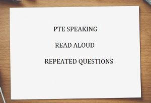 PTE Academic latest exam questions -Free PTE practice test