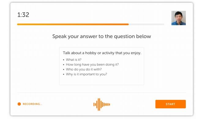 speaking task 2